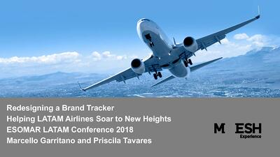 Redesigning a Brand Tracker: Helping LATAM Airlines Soar to New Heights