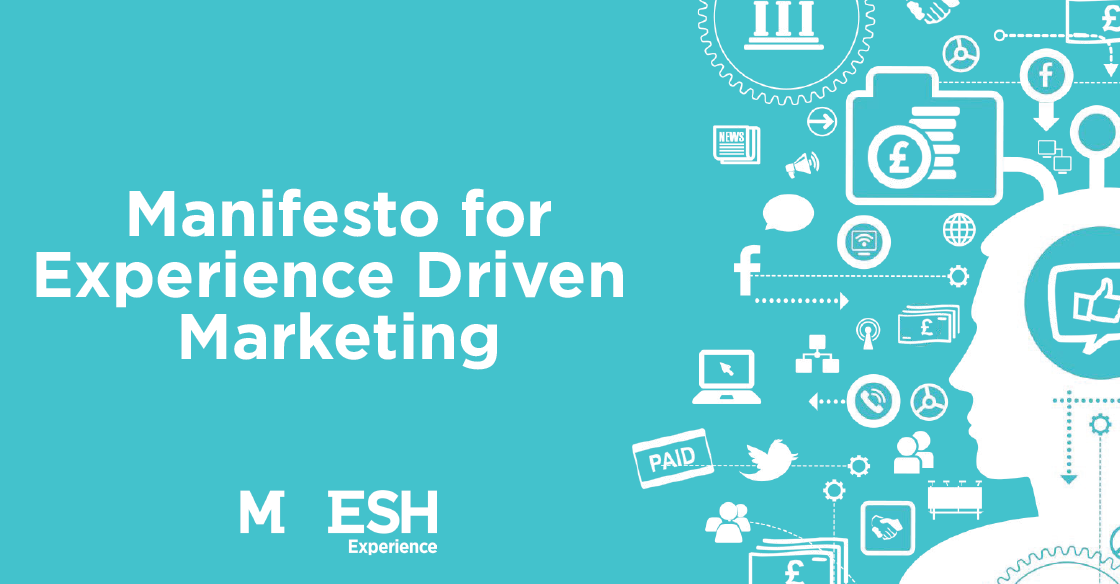 Download the full Manifesto for Experience Driven Marketing for free!
