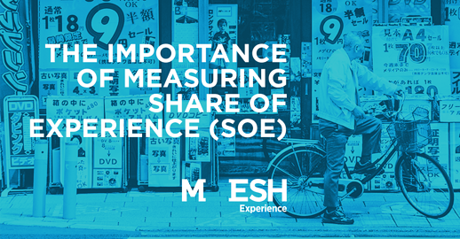 The Importance of Measuring Share of Experience