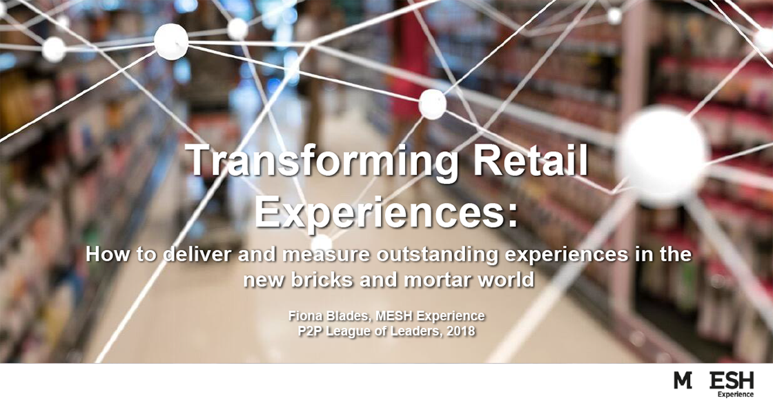 Download the Transforming Retail Experiences presentation!